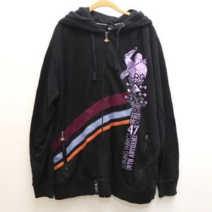 LRG Music Embroidered Anthem Streetware Hoodie